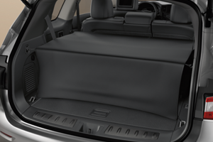 Cargo Area Cover - Rear, Black image for your 2018 Nissan Leaf