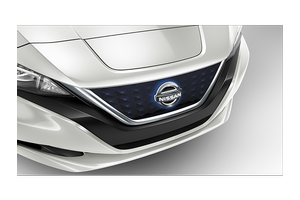Illuminated Grill Emblem image for your 2016 Nissan Leaf