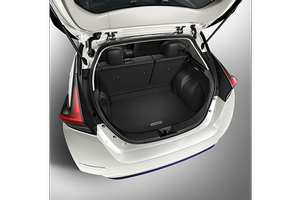 Carpeted Cargo Mat (w/o sub-woofer). Cargo Area Protectors image for your 2020 Nissan Leaf