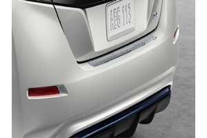 Rear Bumper Protector - Chrome image for your 2016 Nissan Leaf