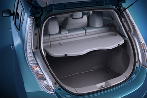 Rear Cargo Cover - Grey. Rear Cargo Cover image for your Nissan Leaf