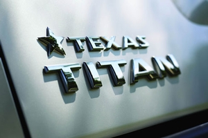 Texas Titan Rear Tailgate Badge image